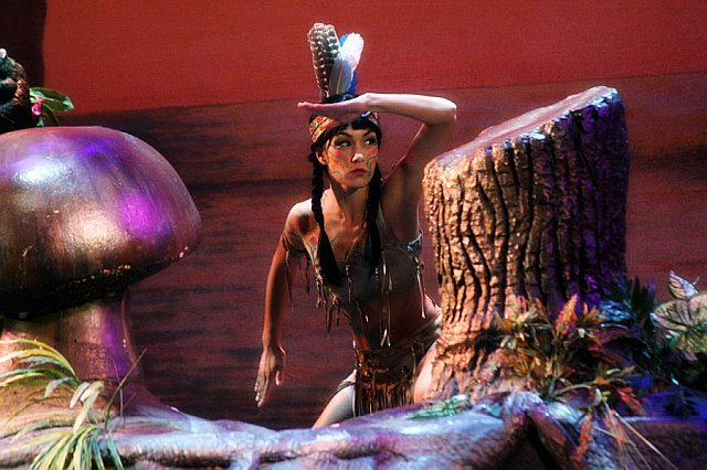 Tracy as Tiger Lilly in Peter Pan